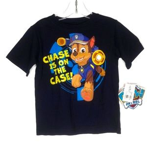 Paw Patrol Chase Graphic Tee Boys 3T NEW